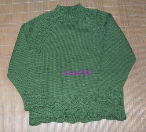 俺漂亮的插肩衣(2008-12-24晚完工) - tping20031214 - 我的博客
