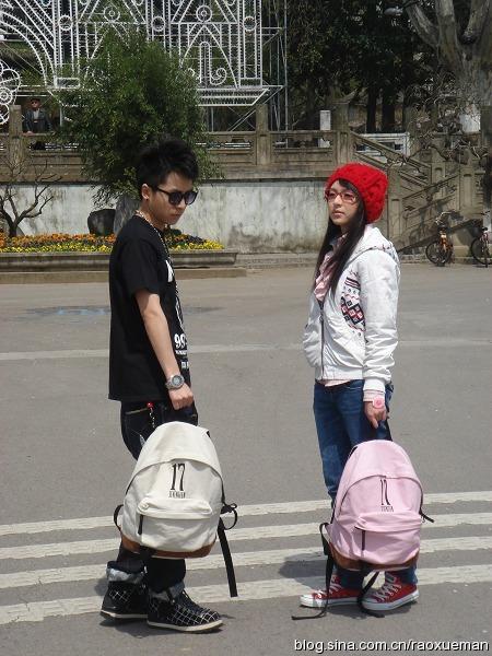 江苏校园行以及我们的17包包独家秀 - 饶雪漫 - 饶雪漫博客