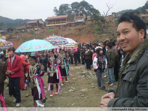 行走大苗山 - 我的苗家女孩 - 广西柳州市三江侗族自治县富禄苗族乡