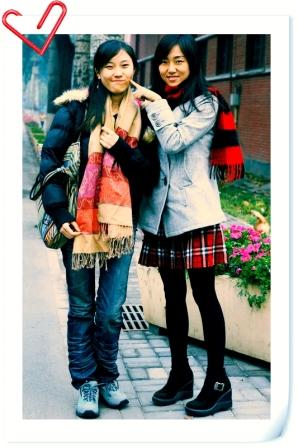 某年某月某日与某姑娘在校园某处被某时尚杂志拦下拍照 - 夏笳 - 夏天的茄子园