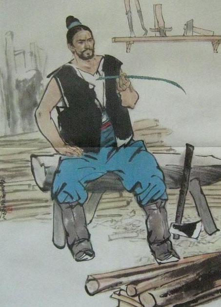 据说咱们中国木匠祖师爷鲁班就是受它启发而 发明了锯子的,图片尺寸
