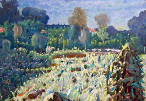 《男道》发表的作品 - 应歧的油画风景 - 应歧的油画风景