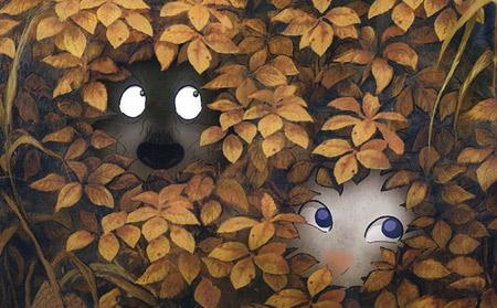 刚看了一个非常感人的动画!翡翠森林狼与羊 - zbxxlive -