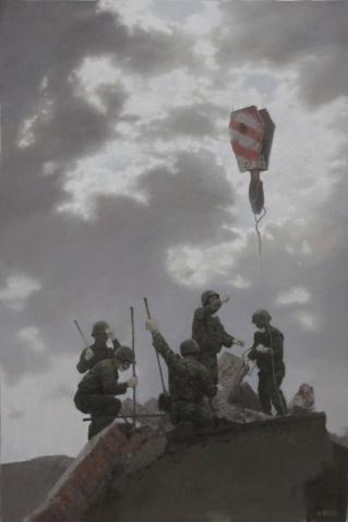入选2008艺术中国——全国画展的油画 - 黄箫 - 黄箫的博客
