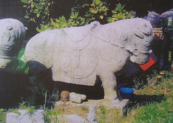 古代石雕欣赏(五) - 项羽 - 项羽 的博客
