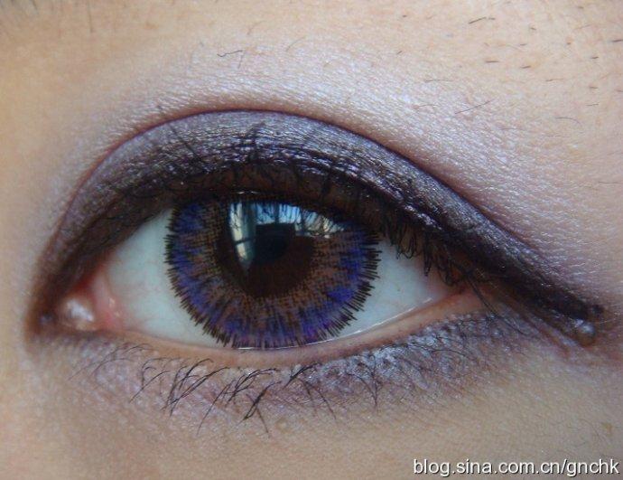 MAC 單色眼影 Her Alter Image, Vile Violet 加眼影粉 Bloodie 紫色真眼試妝 - 小住住 - 住住美妝瘦身分享 (網易版)