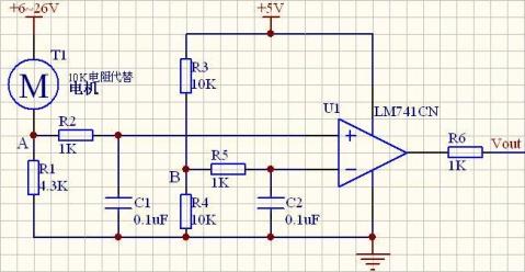 电路的设计,用运放的电压比较功能来实现