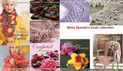 引用 北美最热(HOT)的编织设计师(Designer)--Nicky Epstein  - 七月.荷风 - 水殿風來