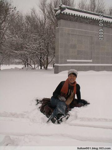 沈阳入冬以来的第一场暴雪 - 温柔 - 温柔博客