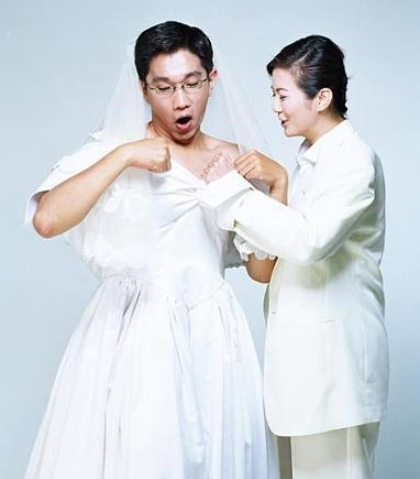 N款创意婚纱照,你会选择哪种? - 冰豆 - 向六的空间