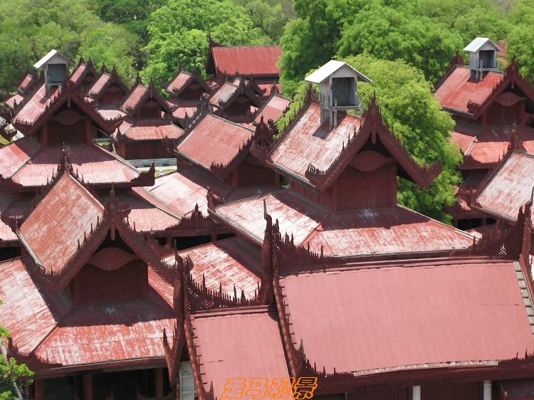 缅甸皇宫 - 西樱 - 走马观景