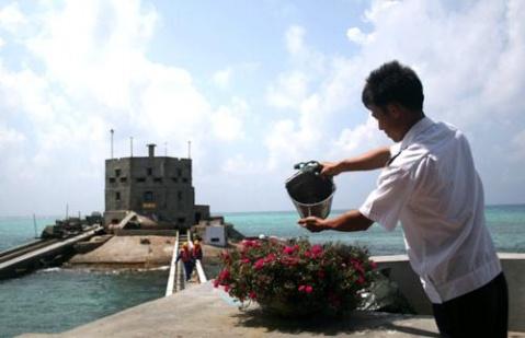 郁闷:南沙群岛六门礁——没有一门朝我们开 - 汉子 - 汉子的博客