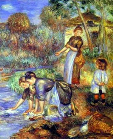 古典欧式人物舞会油画