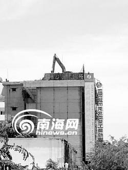 楼顶的挖掘机(2)