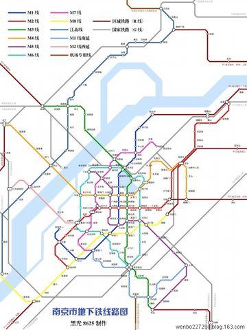 蓬勃发展的国内地铁 - 文静 - 文静的博客