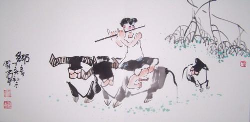 乡音声声(2007/11/28) - 书画家罗伟 - 书画家罗伟的博客