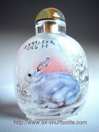 精美瓶内画欣赏 - 黑玫瑰兰妮 - 黑玫瑰兰妮的博客