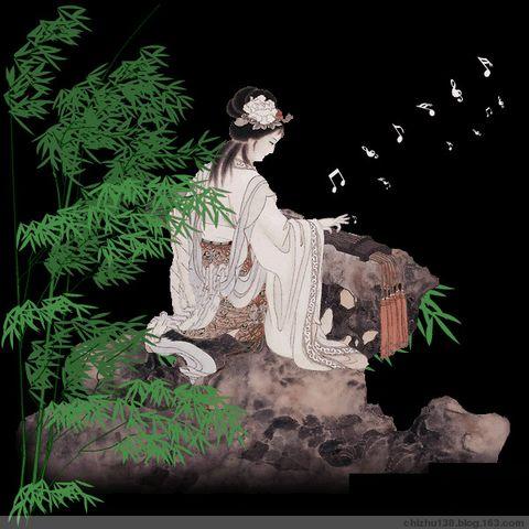 066 【填词】 蝶恋花 寄粉色大漠 - 赤竹山人 - 赤竹山人