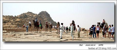 大漠中的金字塔(埃及游之一) - 山阴客 - 山阴客博客