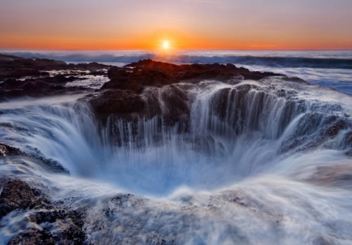 Thor's Well Landscape Photograph