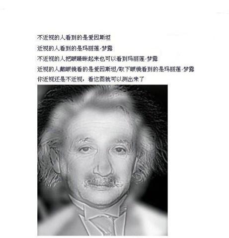 【神】一张神图:是不是近视一看便知(图) - kuangsande - 悬壶济世(祖传秘方治颈椎病)