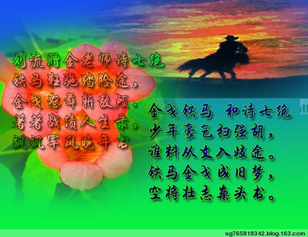"""祝:""""金戈铁马""""生日快乐 - 野玫瑰 - 文飨苑"""