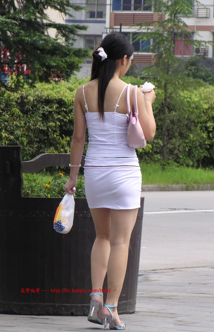 超短超紧白裙 - 源源 - djun.007 的博客
