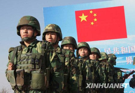军人图片----中国驻黑瞎子岛部队营地亮相 - 披着军装的野狼 - 披着军装的野狼