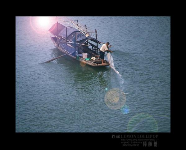 【原创】_河畔·渔歌 - 柠檬棒棒糖 - 柠檬棒棒糖的田园