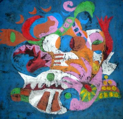 儿童重彩画欣赏 - 彤馨童画 - 彤馨·童画的博客