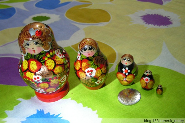 【转载】华丽的俄罗斯套娃 - 以琳书画 - 写字变有趣      童画更率真