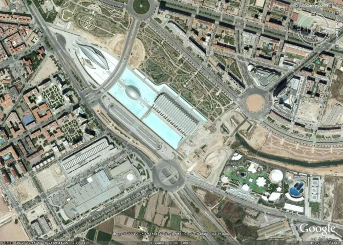 Google Earth看地球之二:Valencia,Spain----scienceair - Happy - 蝴蝶的颜色