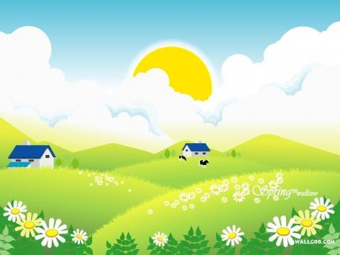 春天 - 落落 - 三(2) 我们的阳光小屋