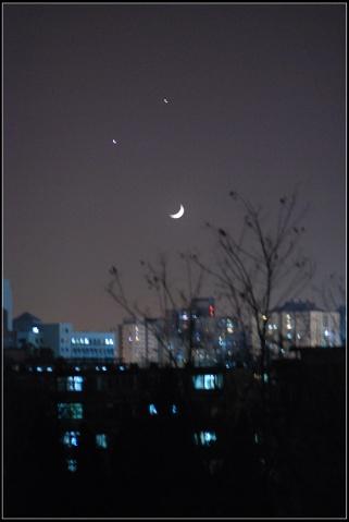 冬夜里天空的笑脸 - 贝贝的爸妈 - 贝贝的爸妈