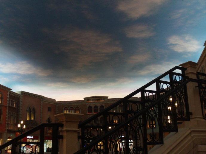 澳门的威尼斯人造天空怎么回事