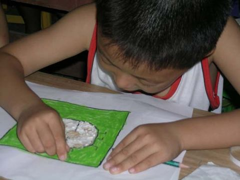 鸡蛋壳贴画 - 梦溪画郎 - 梦溪画郎