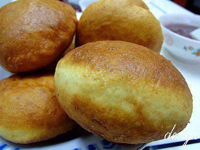 健康杂粮豆面的独创新吃法---豆面泡饼 - 可可西里 - 可可西里