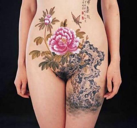 时尚人体艺术 - 粉色冲浪 - 粉色 冲浪