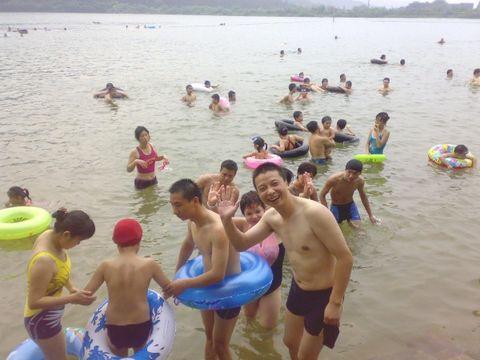 城湾水库游泳记 - 机灵大哥 - 灵感的旅途