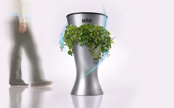 设计得一款绿色环保垃圾桶