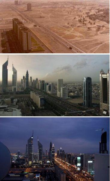 迪拜——1990、2003和2007年