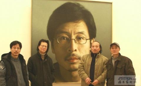 画家冷军一年只画一幅油画 - 老辉的美术宫  - 老辉的美术宫
