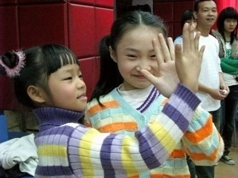 2009年春探访汶川地震儿童 - 紫冰兰 - 莲心苑。紫冰兰