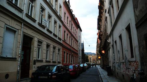 嗨,我在德累斯顿(一) - 方方 - 方方