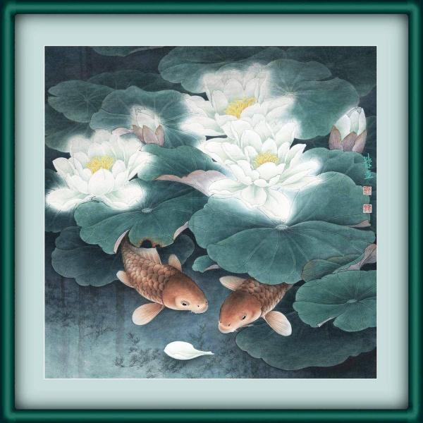 【引用】花鸟工笔画转李晓明 - 冬天的雪 - 冬天的雪--博客