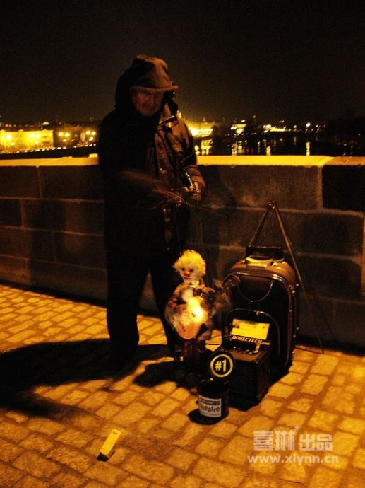 在布拉格,人人都是艺术家 - 喜琳 - 喜琳——传递爱与幸福的使者