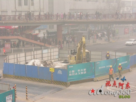 [见证与记录] 组图:西安地铁进行时●小寨篇(1)  - 视点阿东 - 视点阿东