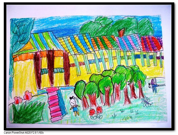 日本儿童版画作品以黑白木刻见长
