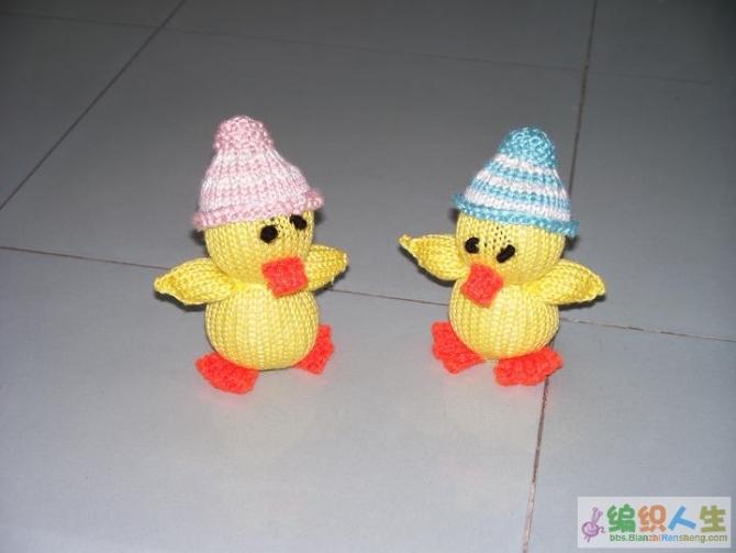 毛线编织鸭子 - 停留 - 停留编织博客