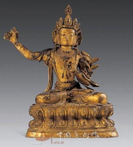 清代金铜佛像 - 姜太公 - wuzujiangtaigong 的博客